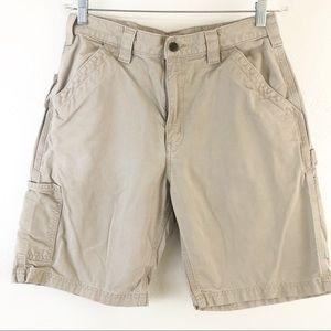 Carhartt original fit cargo khaki size 32